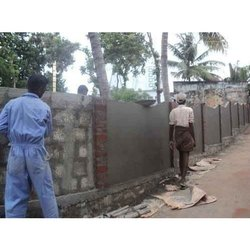 Compound Boundary Wall Construction Service