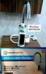 Round Instant Hot Water Tap for Bathroom Fitting