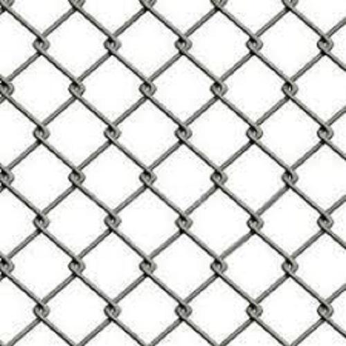 MS And Stainless Steel Wires Fencing Chain Link Mesh