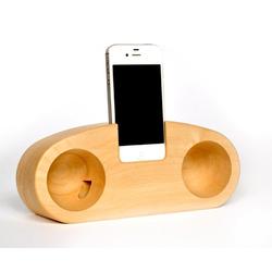 Pine Wooden Mobile Holder