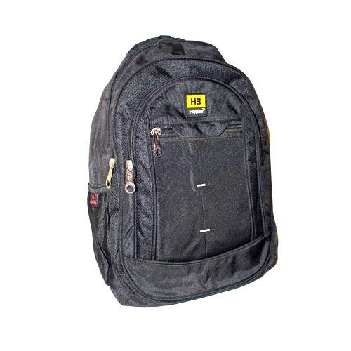 a8e51681f692 Black Polyester School Bag