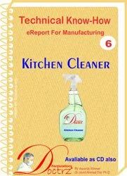 Kitchen Cleaner Formulation And Technical Knowhow Ebook