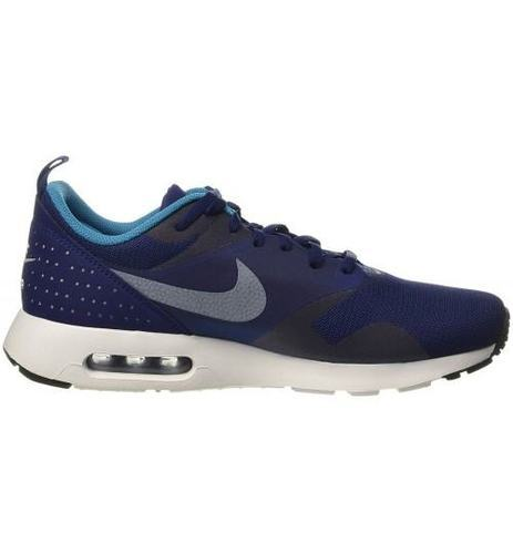 save off 45070 7ed7a Blue And Black Men Nike Air Max Tavas Black Running Sneaker