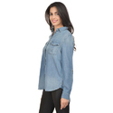 Ladies Surplus Denim Shirt