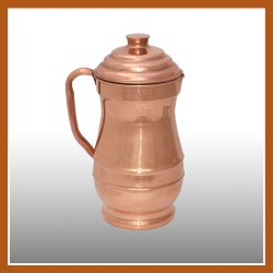 Copper Maharaja Jug Set