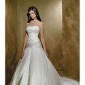 Satin White Wedding Gowns
