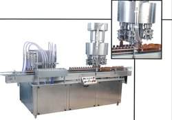 Automatic Glass Milk Bottle Filling Machine
