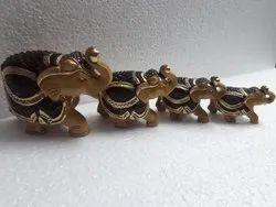 Wooden Handmade Decorative Elephant Show Piece