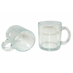 Sublimation Clear Glass Mug