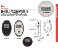 Dwyer DM-2001-LCD Differential Pressure Transmitter