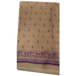 Casual Wear Printed Ladies Tant Saree, 5.5 m, Without Blouse