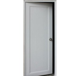 White UPVC Door