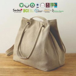 GRS recycle cotton hemp bag manufacturer
