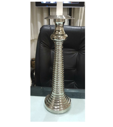 Nickel Plated Candle Stand High Quality Export Quality Product from Royal de Wajidsons