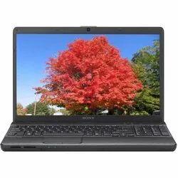 Black Sony VPCEH25EN Laptop Computer, Hard Drive Size: 320 GB