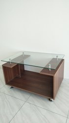 ORBIT COFFEE TABLE WITH GLASS