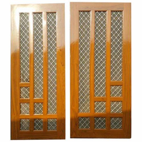 Wood Wire Mesh Door & Wood Wire Mesh Door Taar Ke Bane Darwaze - Shree Shyam Industries ...