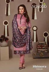 Nayaab Embroidered Ladies Dress Material