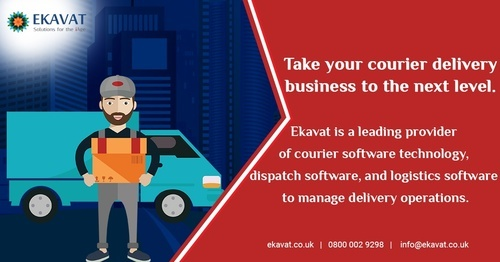 Courier Dispatch Software in Ekavat Limited, Chennai | ID: 19330217848
