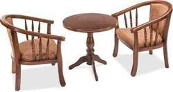 Wooden Set Of Table & Chair For Cafe/Hotel/Bar and Restaurant Furniture