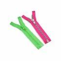 Neon Plastic Zipper