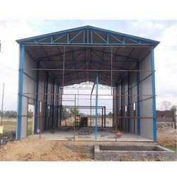Modular MS Prefabricated Factory Shed