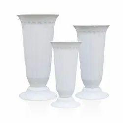 GP-A812 White Plastic Pot