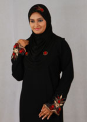 Black Women Pardha Dress