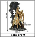 Decorative Love Couple Statues