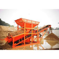 Inline Sand Screening Plant