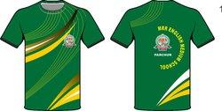 Sports Green T-Shirt