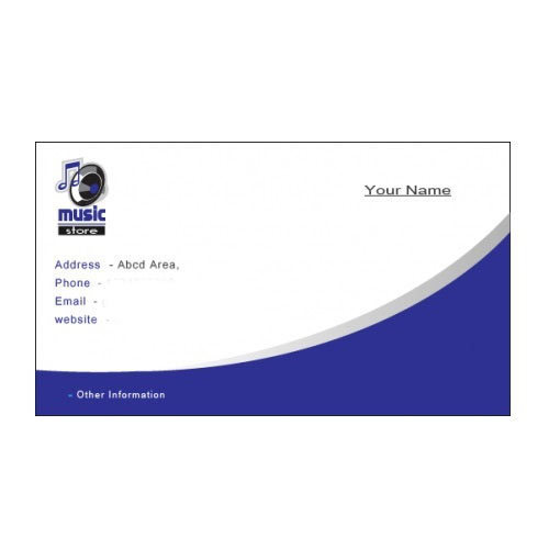 Visiting Card - Designer Visiting Card Manufacturer From New Delhi