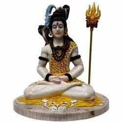 Fiber Shiva Statue
