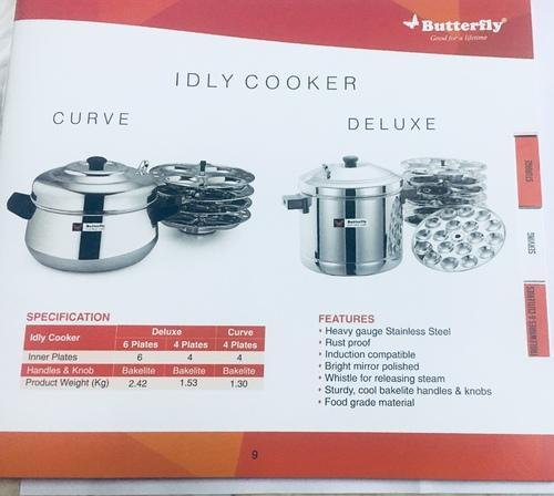 7a4bf743ff stainless steel idly cooker, SS Idli Cooker, जंगरोधी ...