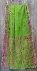Kota Doria Bagru Print Saree