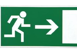 Emergency Fire Exit Signage