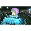 White Wedding Seep Varmala Theme