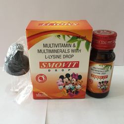 Multivitamin Multiminerals With Lysine Drops