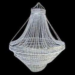 Glass LED Crystal Hanging Chandelier