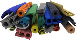 Multicolor Extruded & Molded Rubber Items
