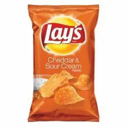 Lays Cheddar & Sour Cream Potato Chips