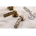 Stylish Silver Mortise Handle
