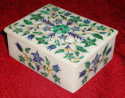 Marble Inlaid Box