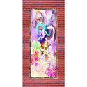 Micro Coated Door Floral Print