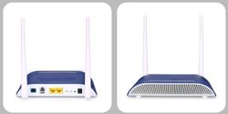 Optivision Blue & White Onu 4ge Wi-Fi, Optical Network Unit