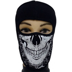Bike Skull Face Mask