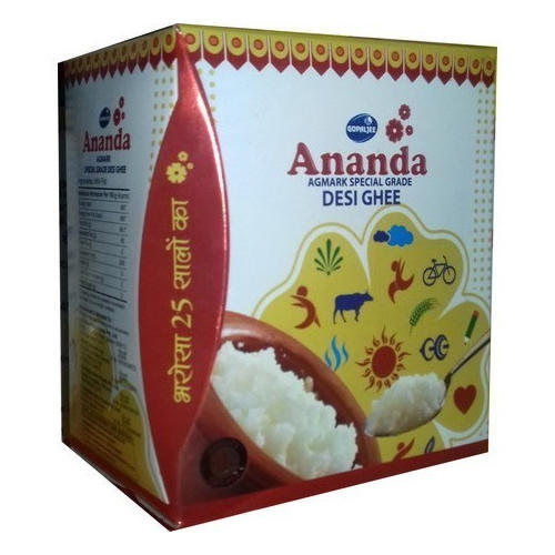 Ananda Desi Ghee for Restaurant & Home Purpose, Packaging Type: Pouch & Packet