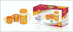 Stainless Steel Aarav Plast Tea Set, Size: 400mL