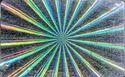 Rainbow Holographic Overlay Radial Sweep Hologram