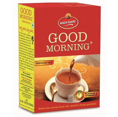Wagh Bakri Good Morning Premium Tea Rs 210 Packet Wagh Bakri Tea